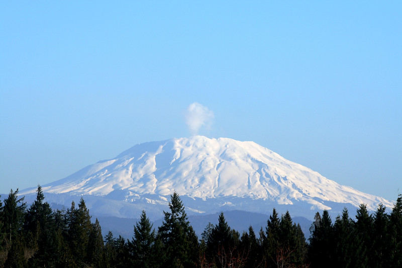 The Majestic Mt. St. Helens