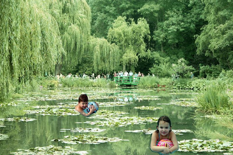 Swimming at Giverny