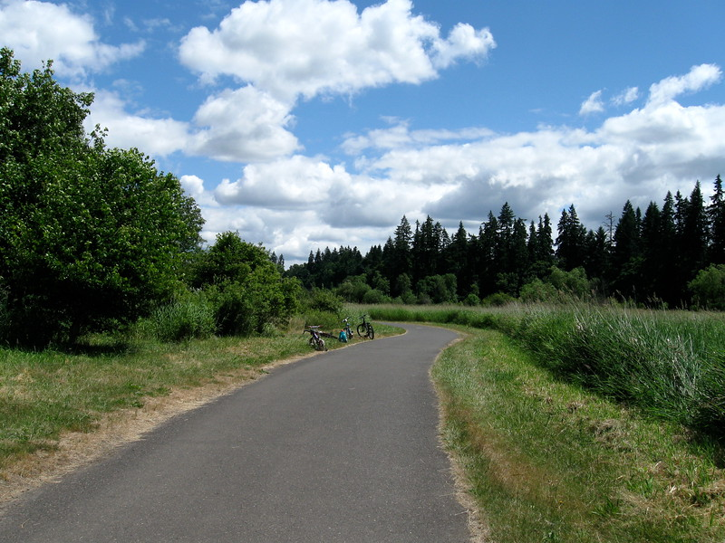 Salmon Creek trail