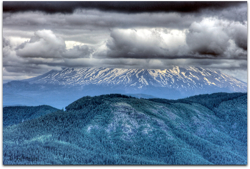 Mount St. Helens from Silver Star