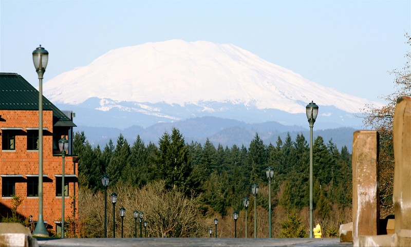 WSUV's view of MT. St. Helens