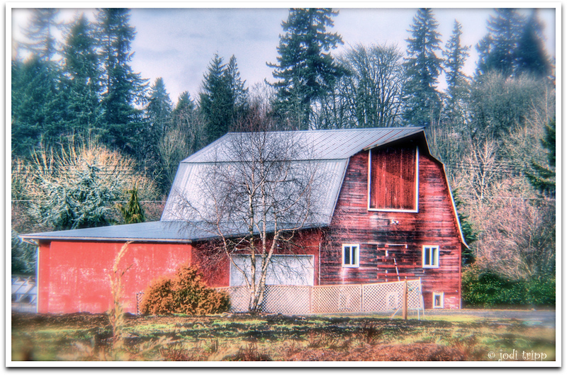 red barn Salmon Creek