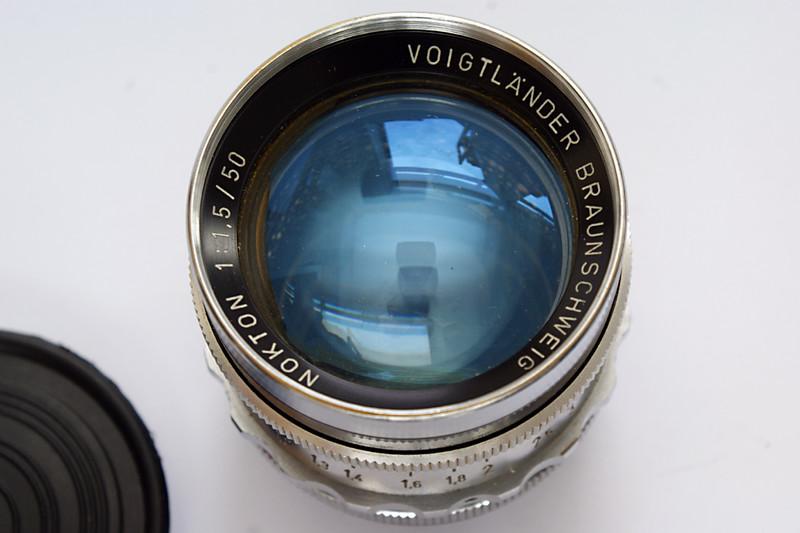 Voigtländer Braunschweig Nokton 50mm f/1.5