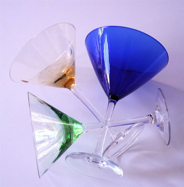 martini glasses version 2