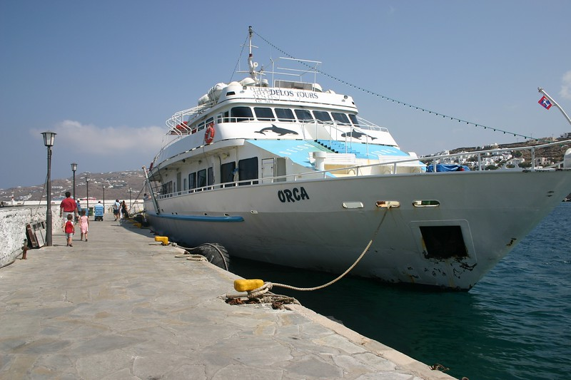 The Boat to Delos