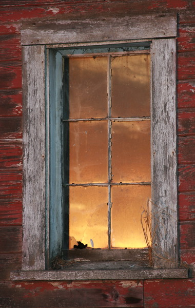 Single Barn Window