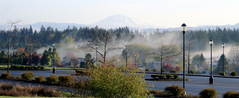 View of Mt. St. Helens from WSU Vancouver