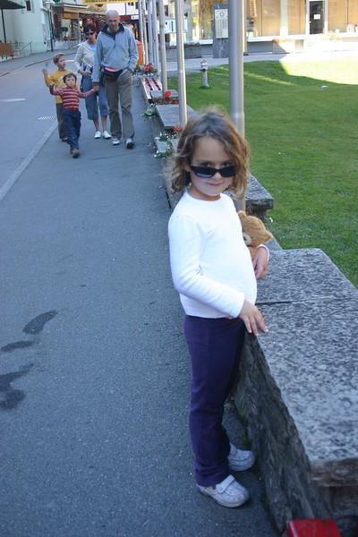Chloe in Wengen