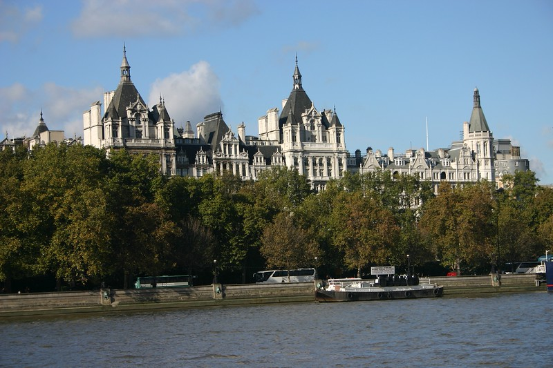 Thames River view