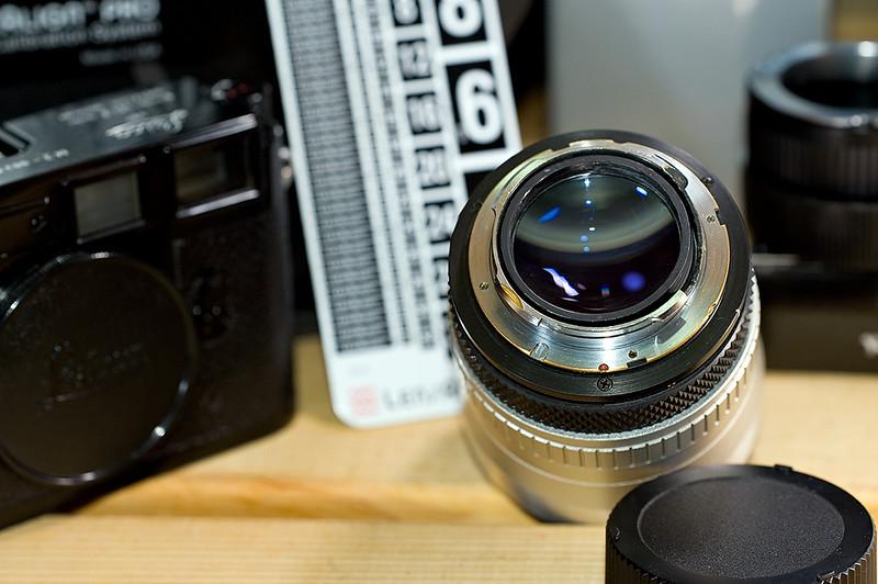 Tarcus I.T.V. 50mm f/0.95 (M-mount)