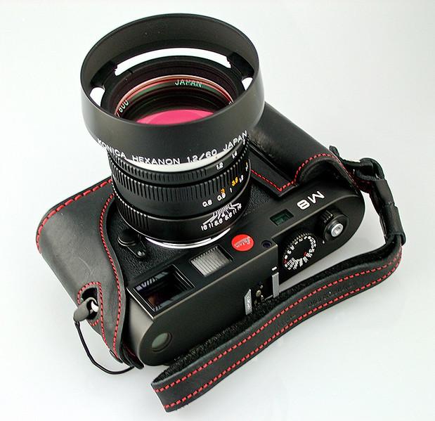 Leica M8, Konica M-Hexanon 60mm f/1.2
