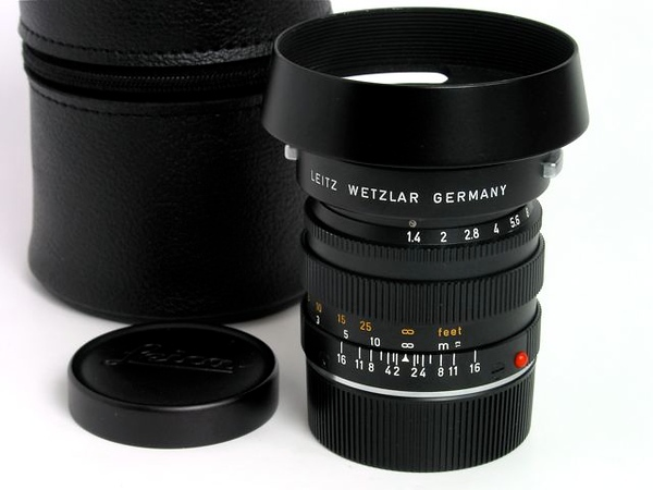 Leica Summilux 50mm f/1.4 (Type II)