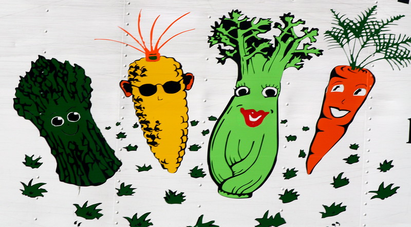 Happy Vegetables