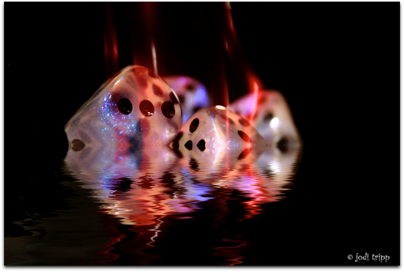 Hot dice cooling off