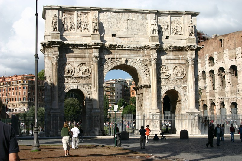 Entrance to Coliseum