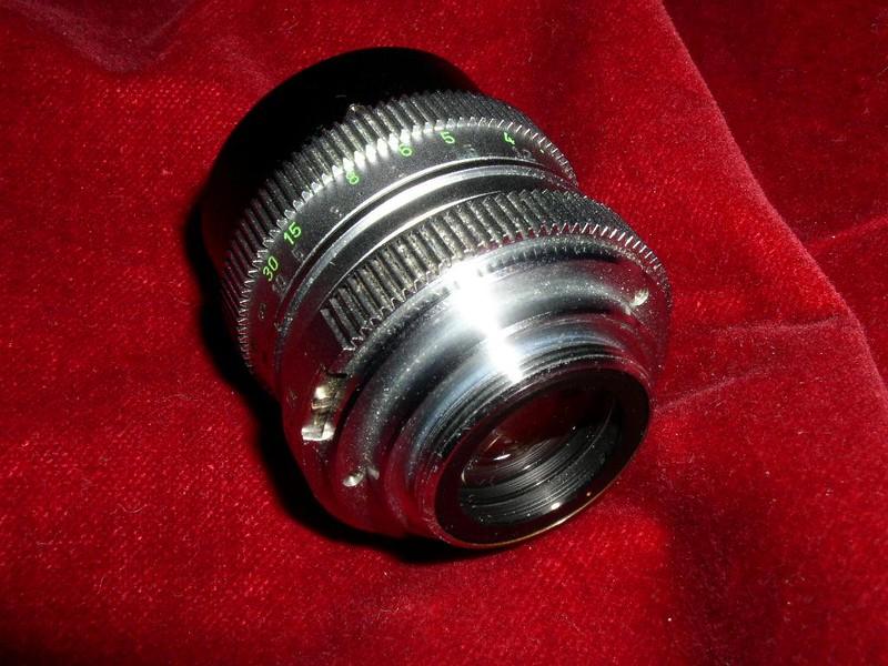 Schneider-Kreuznach Xenon 25mm f/1.4