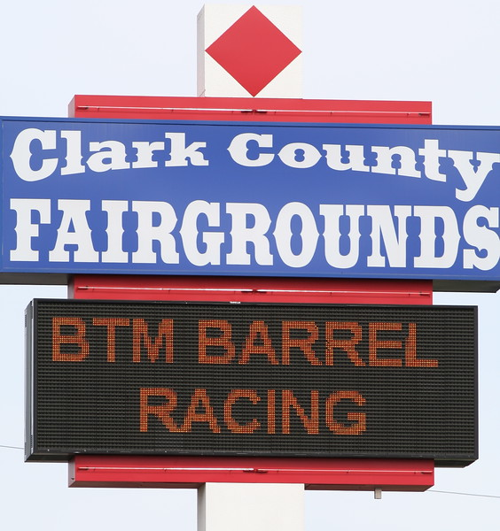 Barrel Racing at the Fairgrounds