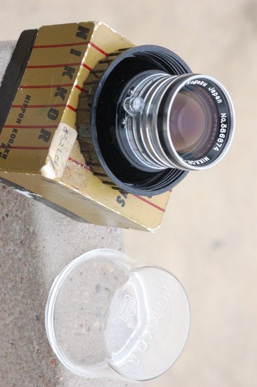 Nikkor-S 5cm f1.4 (Black Rim)