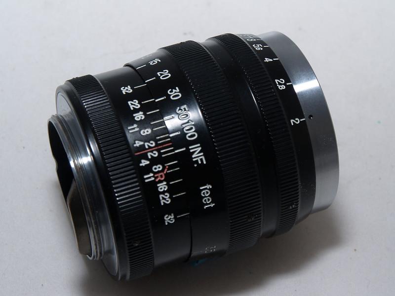Nikkor-P.C 8.5cm f/2 LTM