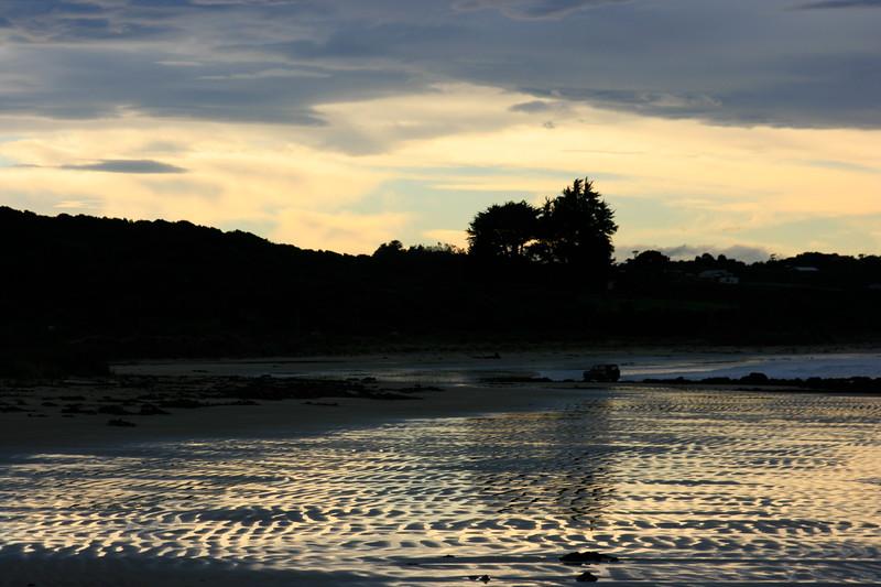 Sunset reflected