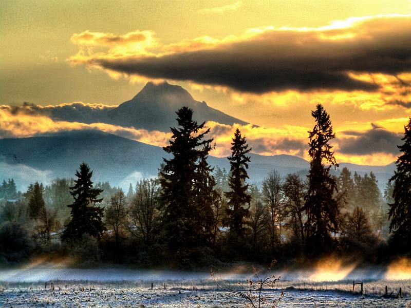 sunrise snow resized