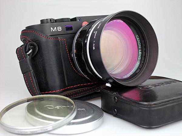 Canon 50mm f/0.95 M-mount