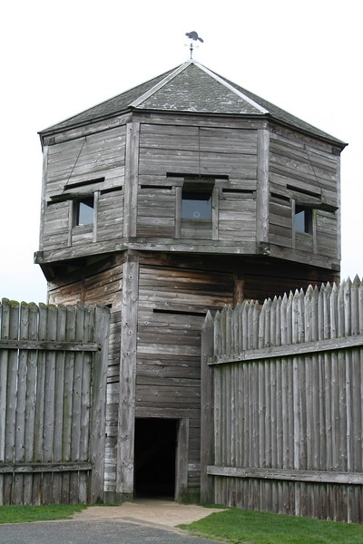 Look Out tower at Fort Vancouver