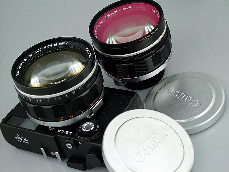 Viso III Mount for Canon 50mm f/0.95