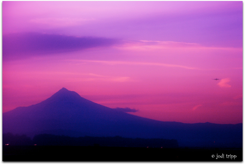 Spring Sunrise behind Mt Hood.jpg