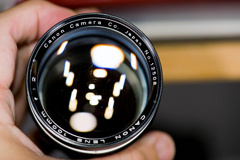 Canon 100mm f/2 LTM