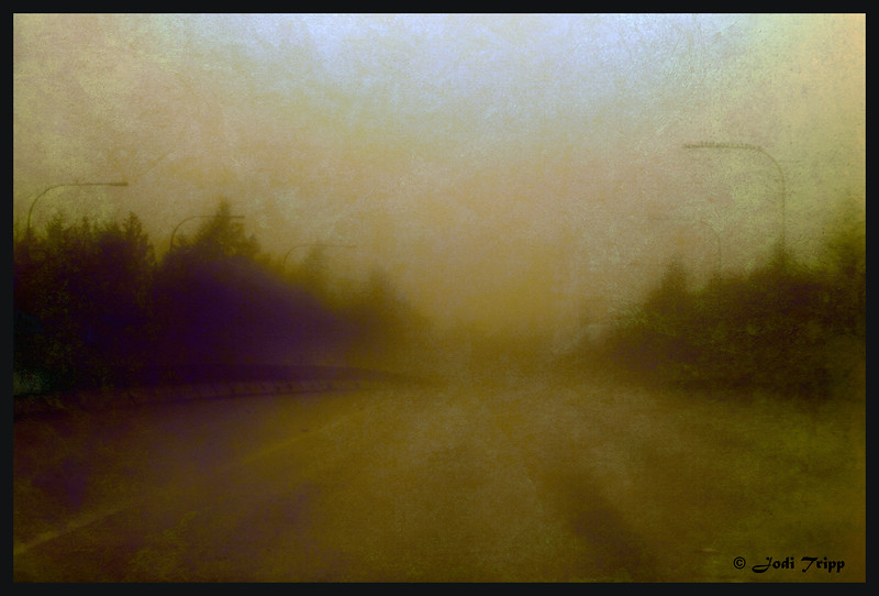 driving into the fog textured2