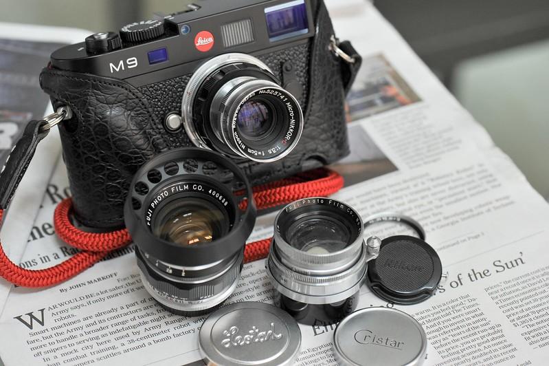 Micro-Nikkor.C 5cm f/3.5 LTM