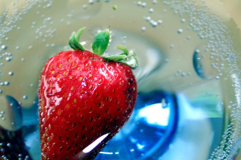 Strawberry float