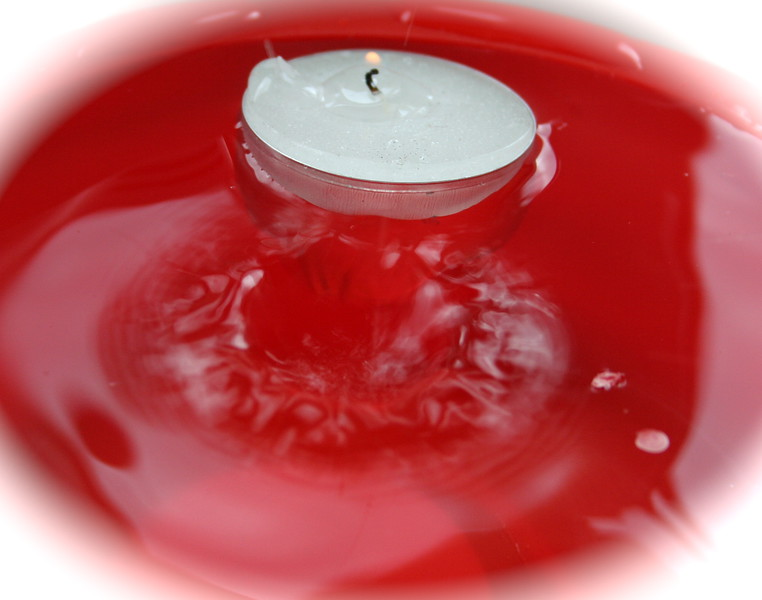 candle splash