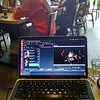 Video editing, favorite cafe, Ubuntu, Kdenlive.