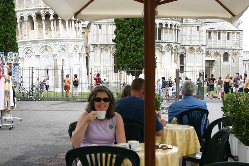 Cappucino in Italy, what could be better?