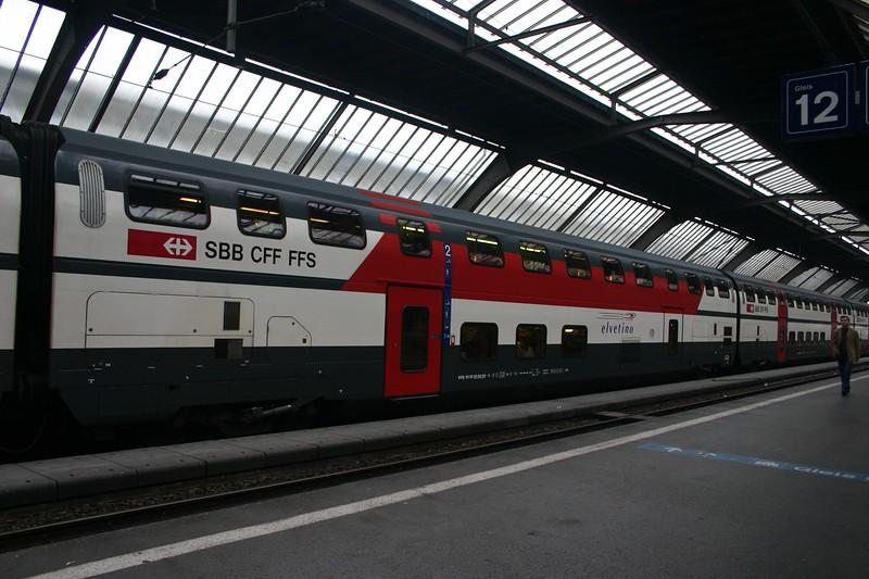 Train to Zurich