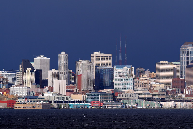 Seattle (part of the skyline)