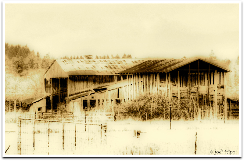 Rural Decay in Sepia
