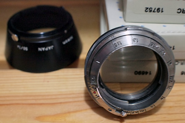 Nikon RF to Leica M Adapter