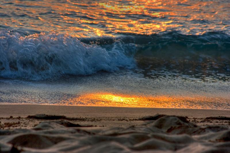 beach macro hdr