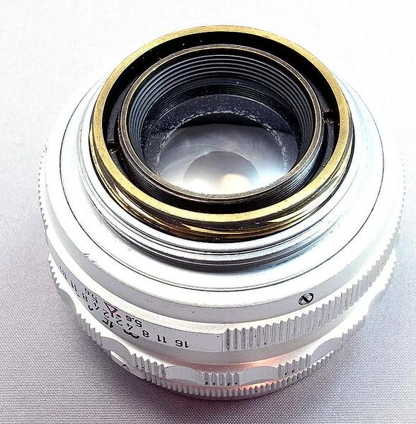 Steinheil München Quinon 50mm f/2 LTM