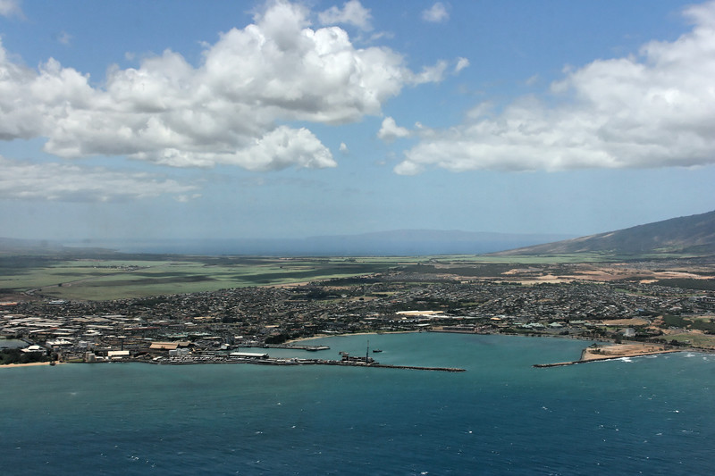 Maui from the air