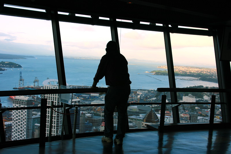 Inside the sky tower