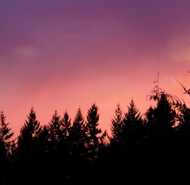 Vancouver WA sunset