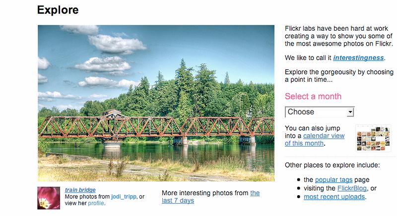 train bridge explore page