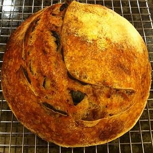 Olive bread cooling. #nofilter #foodie #fooodgram #jux
