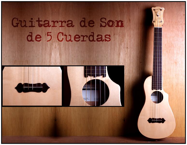 Guitarra de Son de 5 Cuerdas