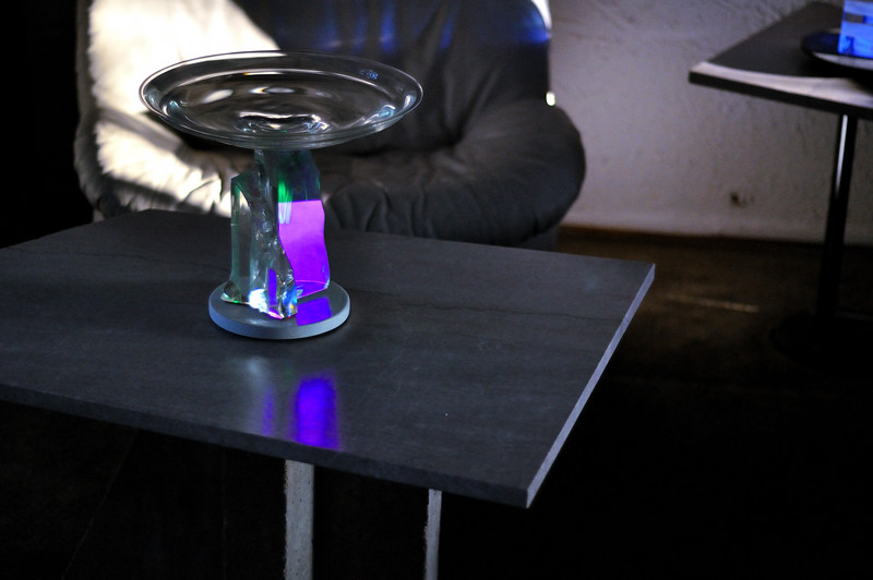 Glass on Table