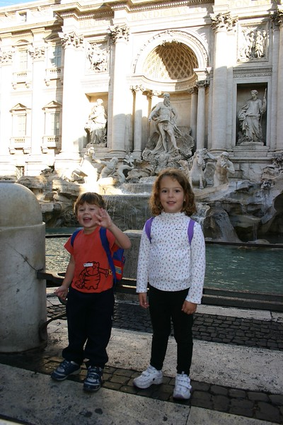 Hi from Trevi Fountain